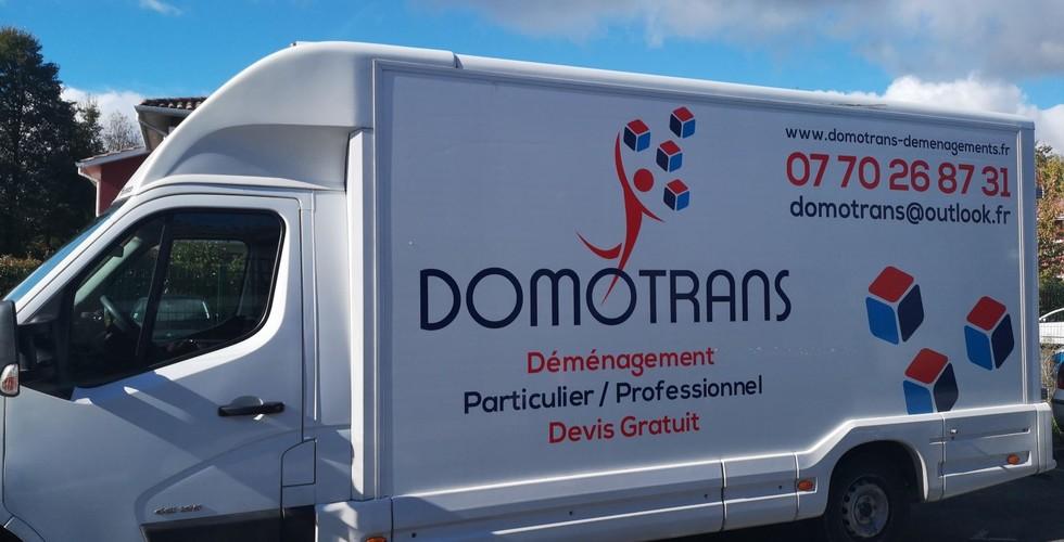 Domotrans : entreprise de déménagement à Créon